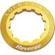 Reverse Kassetten Lockring gold